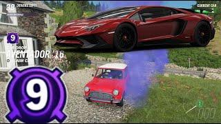 Forza Horizon 4 The Eliminator - Car Drop Level 9 - Lamborghini Aventador SV