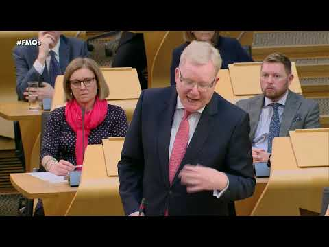 First Minister's Questions - 5 March 2020