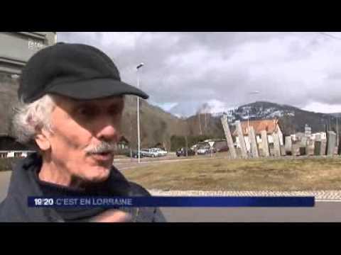 Francis CUNY : JT Local 19-20 - C'est en Lorraine du 25-03-2013_France 3