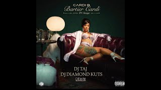BARTIER CARDI (JERSEY CLUB MIX) - DJ TAJ & DJ DIAMOND KUTS