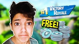 How to get FREE V BUCKS and SKINS in Fortnite Battle Royale (GLITCH)