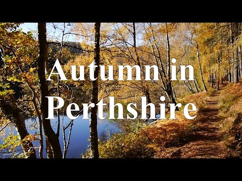 Perthshire, Scotland in Glorious Autumn Colours  (Fall colors)