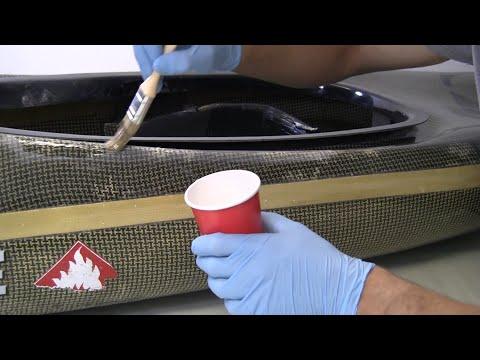 How to Repair a Damaged Composite Canoe or Kayak - Carbon/Kevlar Fibre
