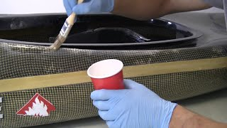 How to Repair a Damaged Composite Canoe or Kayak - Carbon/Kevlar Fibre