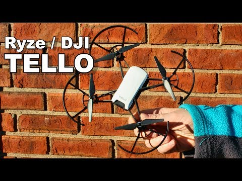 Ryze Tello - Budget DJI Drone For Beginners - Indoor & Outdoor Flight Test - TheRcSaylors