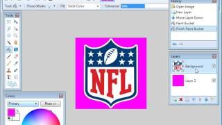 Madden NFL 08 PC (Making CustomArt BMPs - Paint.NET)