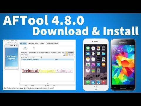 How To Setup AFTool 4.8.0 - Android Flash Tool Crack Without Box - 동영상