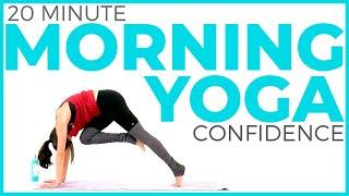 Energizing Morning Yoga for Posture & Confidence (20 minute Yoga) | Sarah Beth Yoga