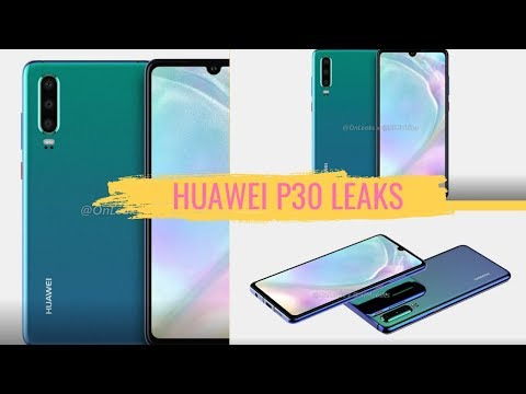 Leaked Renders Of The Upcoming Huawei P30 With Headphone Jack! 🤔