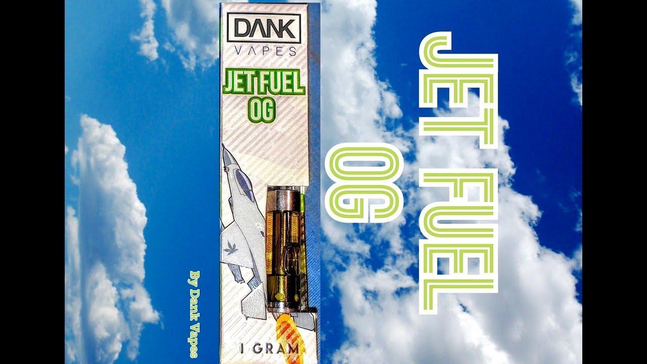 Dank Vapes- Jet Fuel OG