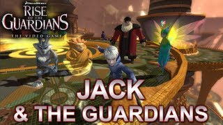 Rise of the Guardians: The Video Game - PS3/X360/Wii/NDS/N3DS/Wii U - Jack and the Guardians