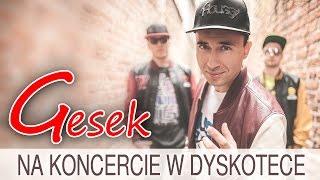 Gesek - Na koncercie w dyskotece (Oficjalny teledysk)