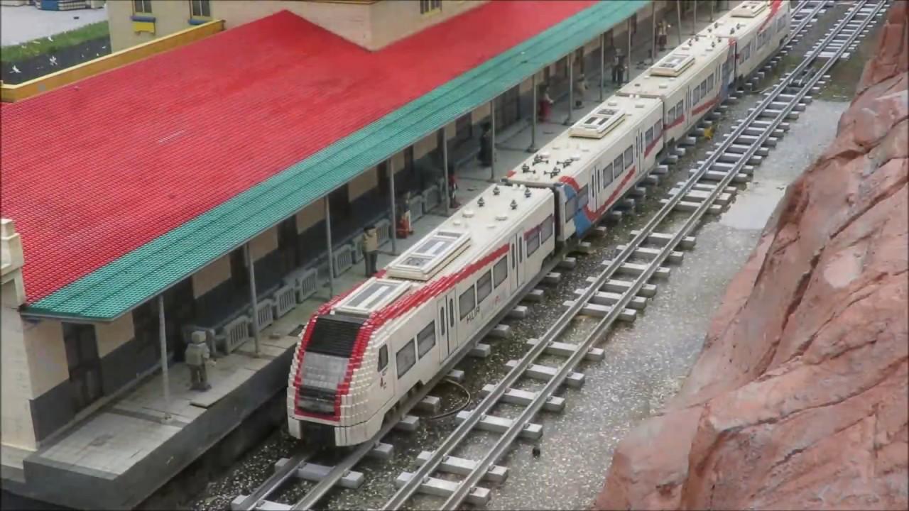 Legoland Malaysia Miniland Railway(30 Subscribers Special ...