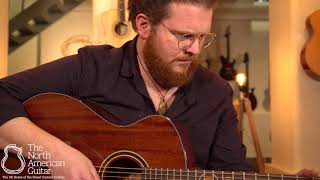 Andrew White Freja 100J All-Jatoba Acoustic Guitar Played By Ben Smith (Part One)