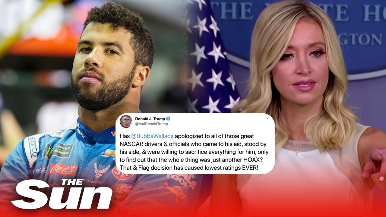 White House tries to clarify Trump tweet appeared to urge Nascar driver Bubba Wallace to apologize