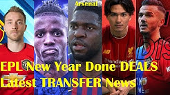 New Year 2020 Deals: All Completed Transfers in EPL + Latest News