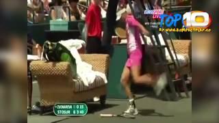 Top 10 Momente Comice în Tenis !