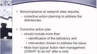 Corrective Action Plans ED Trailer