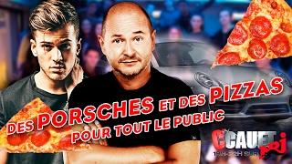 Cauet et David Carreira négocient des Porsches et des pizzas pour tout le public - C'Cauet sur NRJ