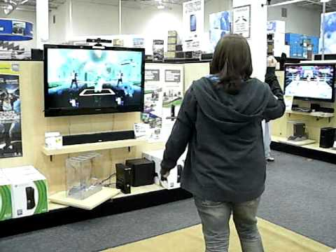 4/2/2011 White Marsh (MD) Best Buy: Michael Jackson Experience Game Demo