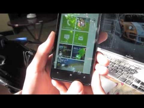 Trên tay HTC HD7