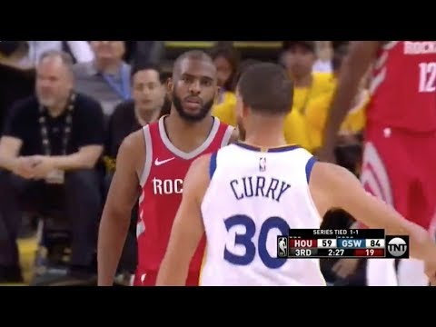 bb7f4b98ab71 Steph Curry Exposes Chris Paul s Overrated Defense - 2018 NBA WCF. Nobody  Touches Jordan