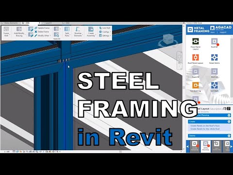 Light Gauge Steel Framing Bim Software For Modeling Detailing Documenting Cold Formed Metal Framing Structures In Revit Structural Engineering Communication Coordination Fabrication Agacad