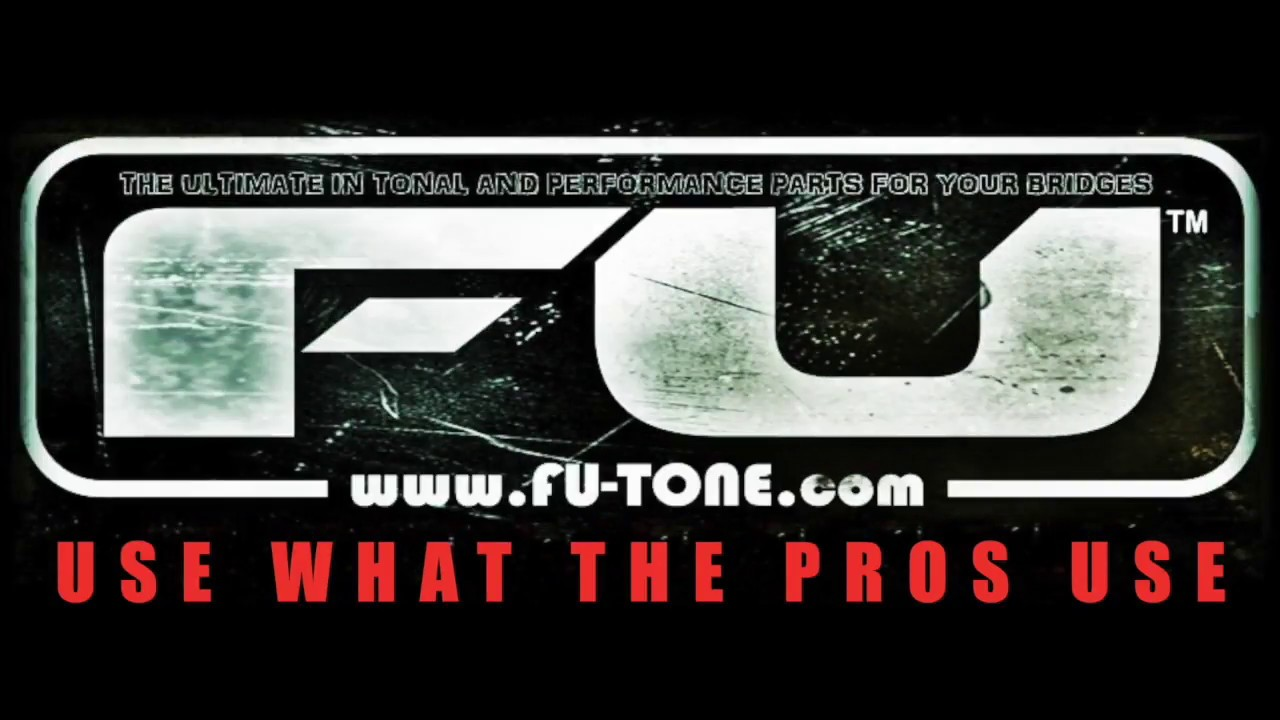 FU-Tone com PRS Brass Block Guitar Upgrade