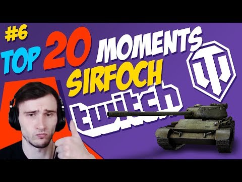 #6 SirFoch TOP 20 Moments | World of Tanks