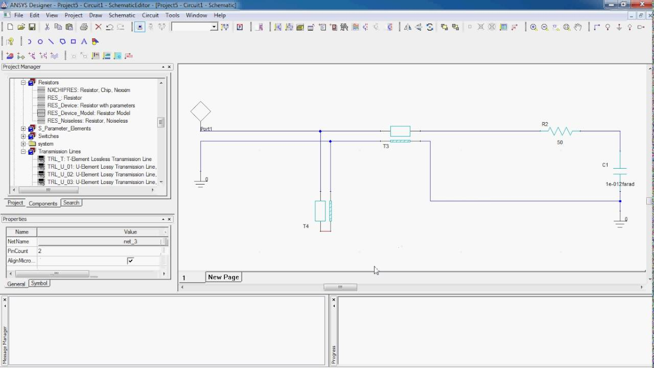 Ansys Designer Circuit Tutorial Youtube Simulation Software Suits Rf Design Applications