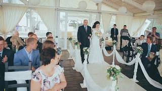Церемония выездной регистрации брака в Горках. Горки, Орёл - видеограф Андрей Соколов