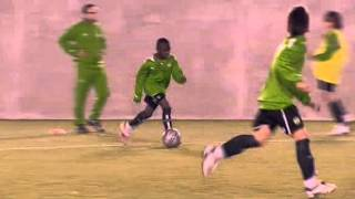 soccer coaching drill 2v1 3v2