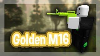 Roblox Script Showcase Episode#1272/M16 Golden Gun