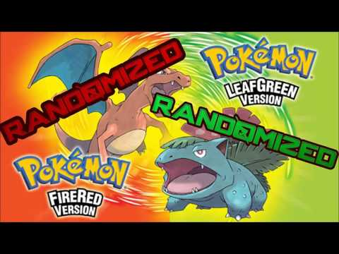 randomized pokemon fire red rom