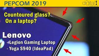 Lenovo Legion & Yoga S940 (aka Ideapad 940S) @Pepcom 2019