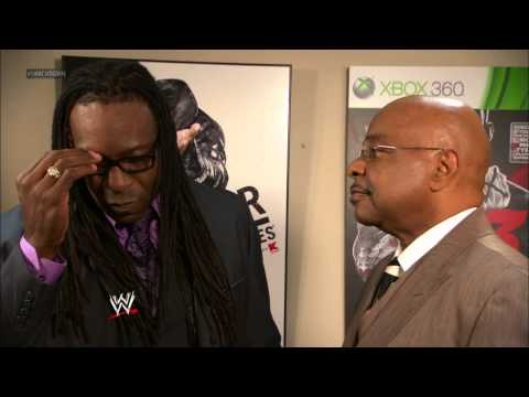 SmackDown General Manager Booker T has some fun with his Senior Advisor Theodor Long: SuperSmackDown