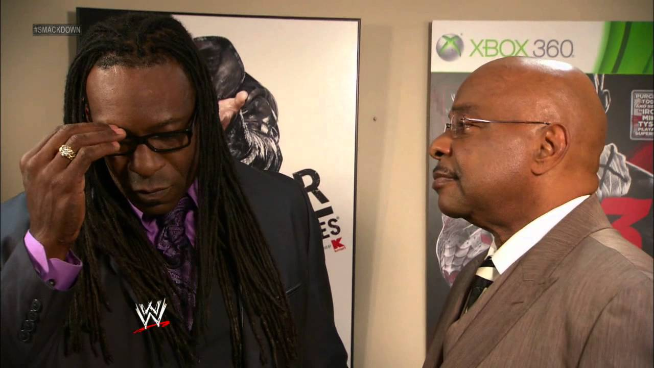 SmackDown General Manager Booker T has some fun with his ...