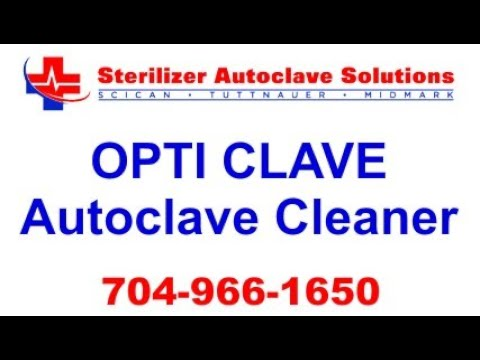 Opti Clave Autoclave Cleaner by StatimUSA