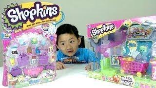 Shopkins小超市和12包与特别版蓬松婴儿的Shopkins
