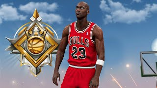 LEGEND MICHAEL JORDAN BUILD DOMINATES the 1v1 EVENT in NBA 2K20