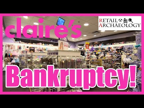 Claire's: BANKRUPTCY! | Dead Mall & Retail Documentary | Retail Archaeology