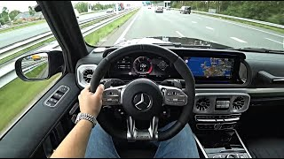 The New Mercedes AMG G63 G Class 2021 Test Drive