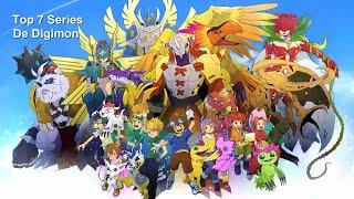 Las 7 mejores series de Digimon.