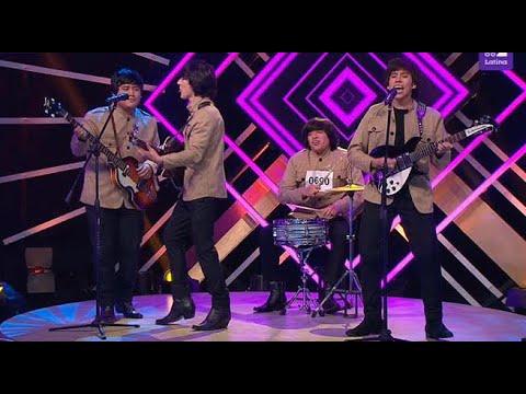 The Beatles cantaron 'Twist and shout' y alborotaron el set de Yo Soy