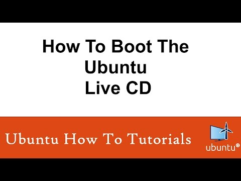 How To Boot The Ubuntu Live CD