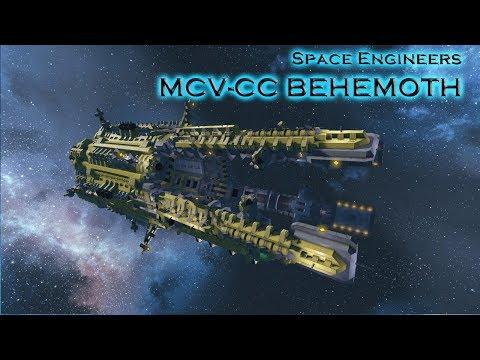 Die Behemoth - Schiffvorstellung - Space Enginneers