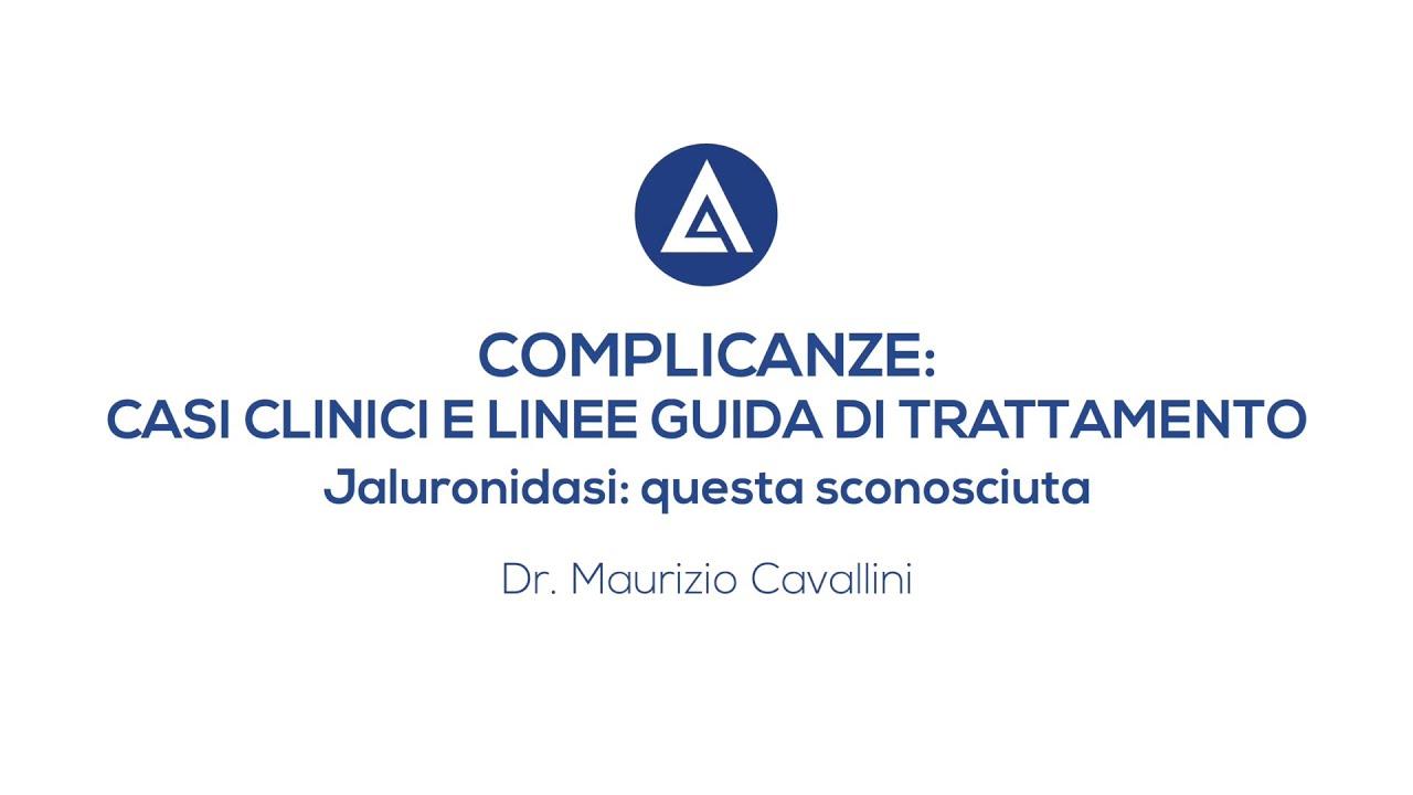 COMPLICANZE IN MEDICINA ESTETICA - Videointervista Dott. Maurizio Cavallini