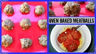 What's For Dinner? Episode 35: Oven Baked Meatballs