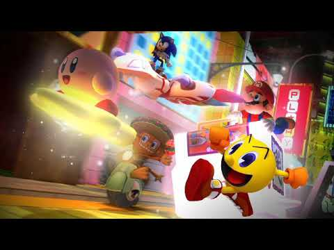 Super Smash Bros Universe Poster (with Pac-Man)