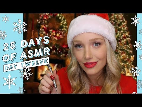ASMR Writing Cards With Mrs Claus (Feather, Handwriting, Paper Sounds…) #25DaysOfASMR   GwenGwiz
